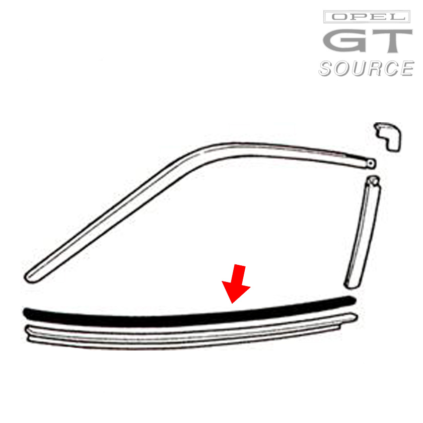 2006_opel_gt_lower_door_window_rubber_scraper_diagram02